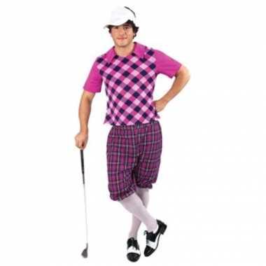 3delig golf verkleedkleding mannen tip