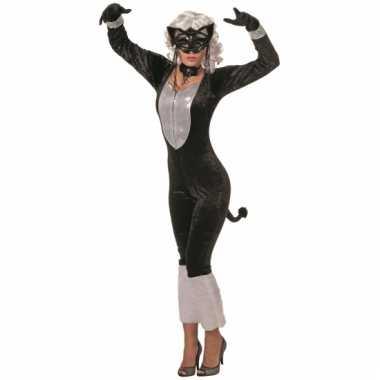 Alley kat verkleedkleding dames tip