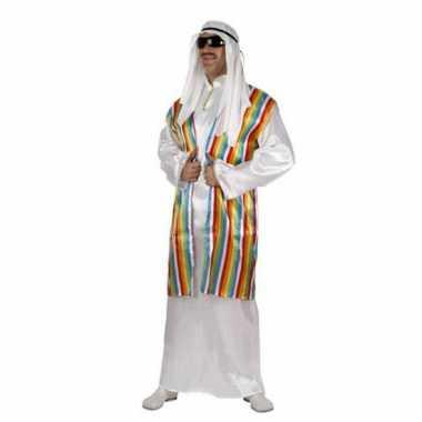 Arabisch verkleedkleding kleurenvest tip