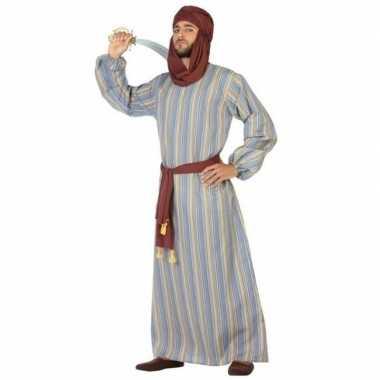 Arabische strijder ali verkleed verkleedkleding/gewaad heren tip