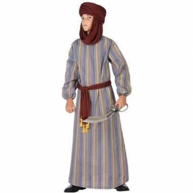 Arabische strijder ali verkleed verkleedkleding/gewaad jongens tip