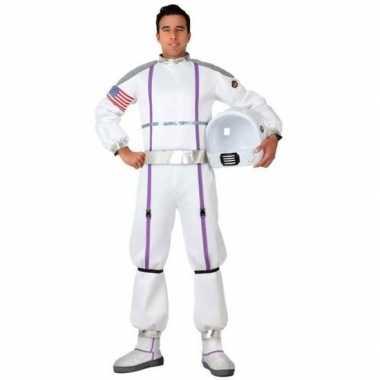 Astronauten verkleed verkleedkleding/verkleedkleding heren tip