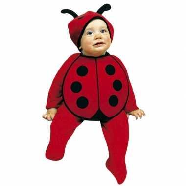 Baby verkleedkleding lieveheersbeestjes tip
