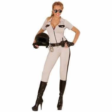 Beige snelweg politie verkleedkleding tip
