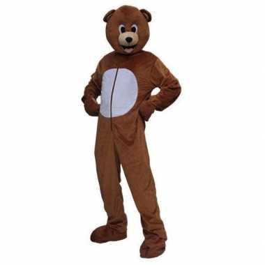 Beren verkleedkleding pluche tip