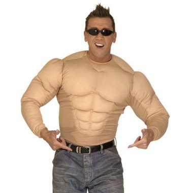 Bodybuilders lichaam verkleedkleding tip