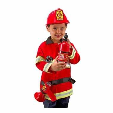 Brandweer verkleedkleding kind tip