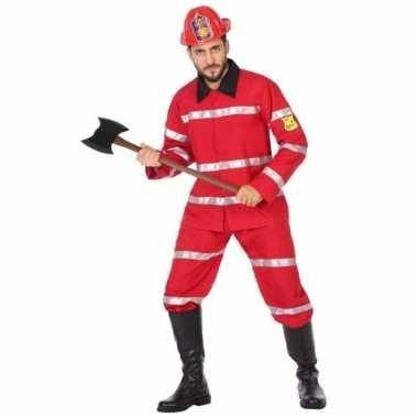 Brandweerman verkleed verkleedkleding heren tip