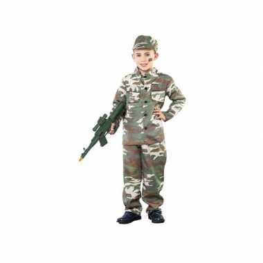 Camouflageverkleedkleding jongens tip