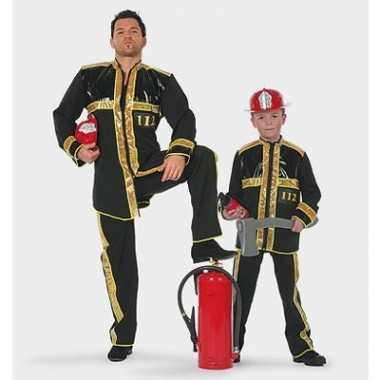 Carnaval brandweer verkleedkleding kind tip