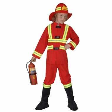 Carnaval brandweerverkleedkleding kind tip