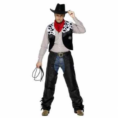 Carnaval Cowboy verkleedkleding heren tip