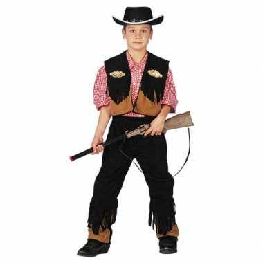 Carnaval Cowboyverkleedkleding jongens tip