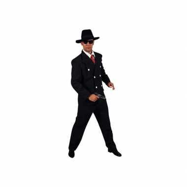 Carnaval gangster verkleedkleding heren tip
