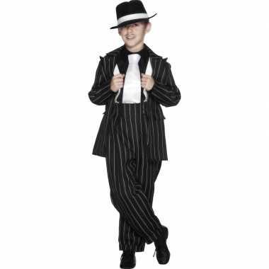 Carnaval Gangster verkleedkleding jongens tip