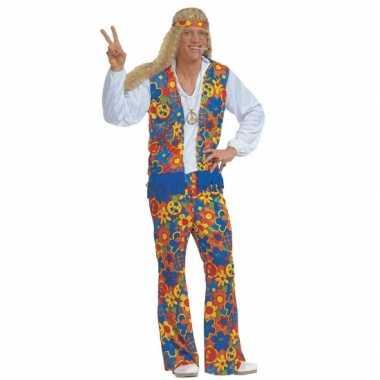 Carnaval Hippie verkleedkleding heren tip