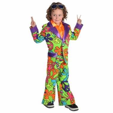 Carnaval Hippie verkleedkleding kind tip