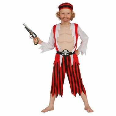 Carnaval jongens piratenverkleedkleding tip