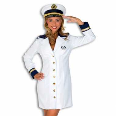 Carnaval Kapitein verkleedkleding dames tip
