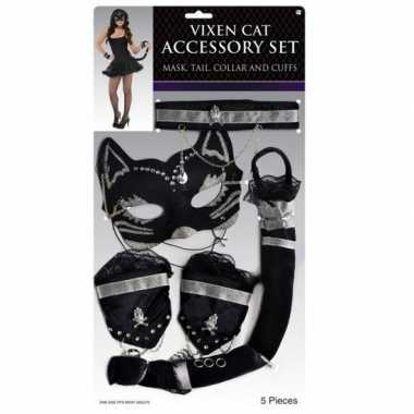 Carnaval katten/poezen verkleedkleding tip