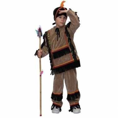 Carnaval kinder indianenverkleedkleding tip