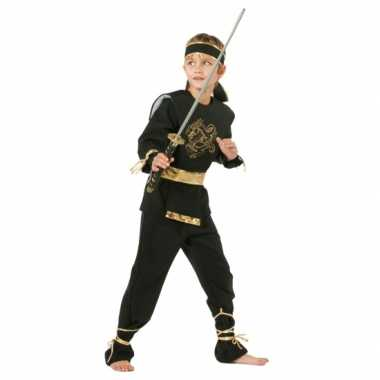Carnaval Ninja verkleedkleding kind tip