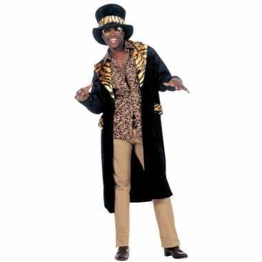 Carnaval Pimp verkleedkleding heren tip