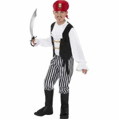 Carnaval piratenverkleedkleding kind tip