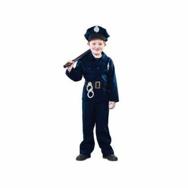 Carnaval politie verkleedkleding kind tip