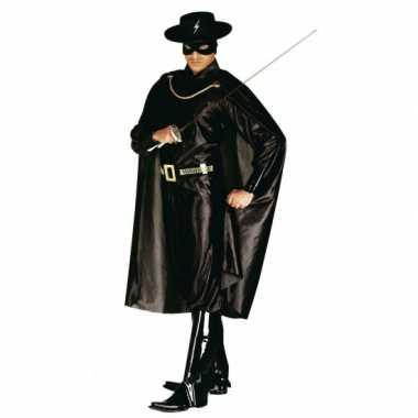 Carnaval Zorror verkleedkleding heren tip