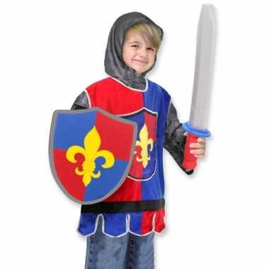 Carnavals verkleedkleding ridder kind tip