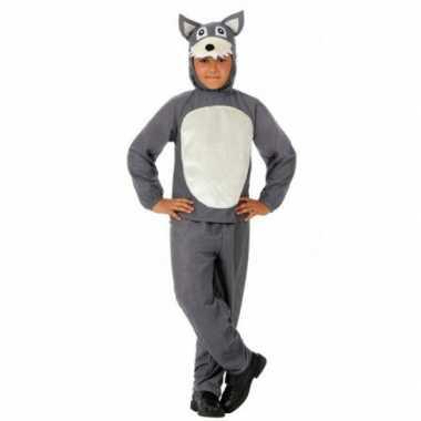 Carnavals verkleedkleding wolf kind tip