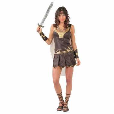 Carnavalsverkleedkleding gladiator dames tip