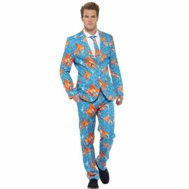 Carnavalsverkleedkleding heren verkleedkleding goudvissen tip