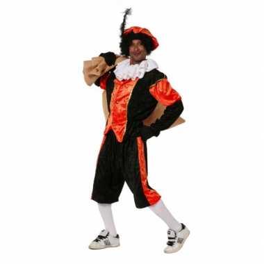 Carnavalsverkleedkleding Oranje zwarte pieten verkleedkleding budget