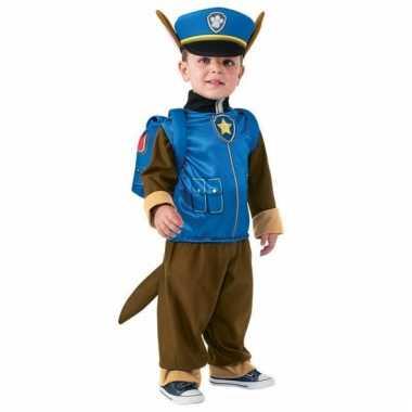 Chase verkleedkleding paw patrol jongens tip