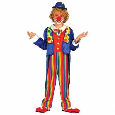 Clown verkleedkleding kind tip