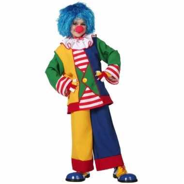 Clowns verkleedkleding jongens meisjes tip