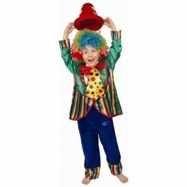 Clowns verkleedkleding jongens tip
