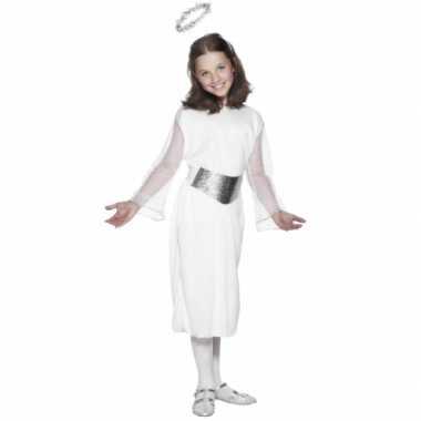 Compleet engelen verkleedkleding kind tip