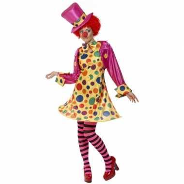 Dames clowns verkleedkleding tip