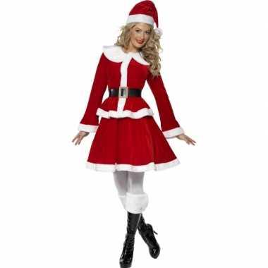 Dames kerst verkleedkleding muts tip
