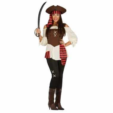 Dames piraten verkleedkleding tip