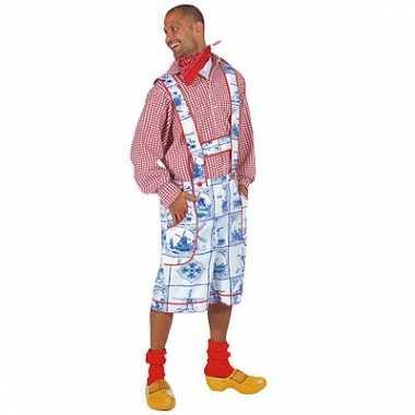 Delftsblauwe verkleed verkleedkleding tip