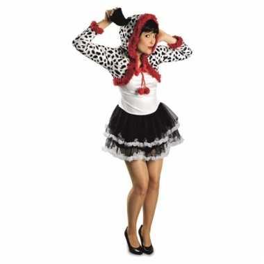 Dierenverkleedkleding dalmatier dames verkleedkleding tip