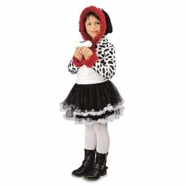 Dierenverkleedkleding dalmatier meisjes verkleedkleding tip