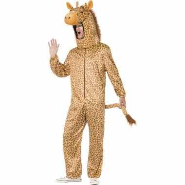 Dierenverkleedkleding giraffen volwassenen tip