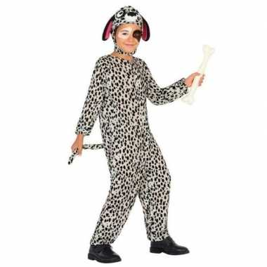 Dierenverkleedkleding hond/honden verkleed verkleedkleding dalmatier