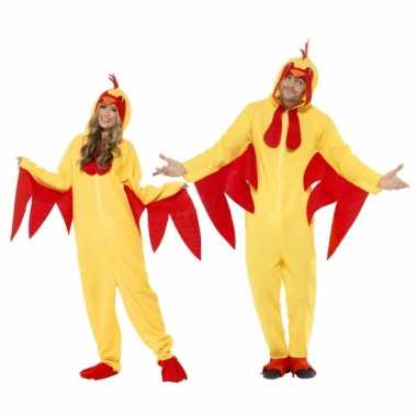 Dierenverkleedkleding kippen volwassenen tip