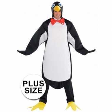 Dierenverkleedkleding pinguin heren tip